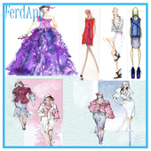 fashion designs sektch icon