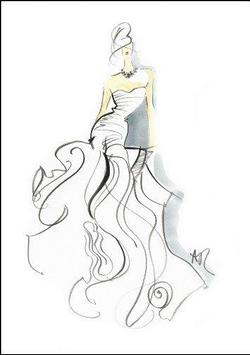 fashion designs sektch poster