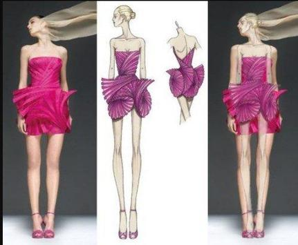 fashion designs sektch apk screenshot