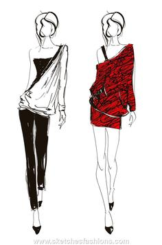Fashion Designs Sketching screenshot 3