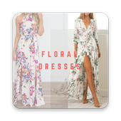 Cute Floral Dresses icon