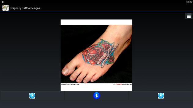 Dragonfly Tattoo Designs apk screenshot