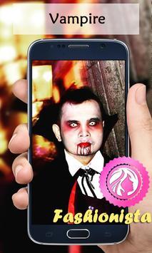 Vampire Dracula Camera poster