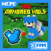 Mod Armored Wolf for MCPE icon