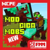 Mod Giga Mobs for MCPE icon