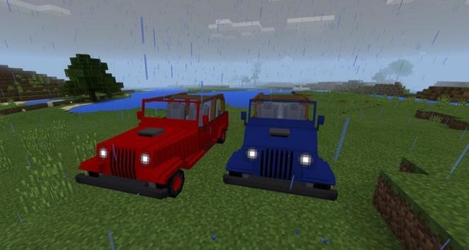 Mod New Jeeps for MCPE apk screenshot