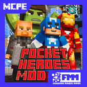 Mod Pocket Heroes Pro for MCPE icon