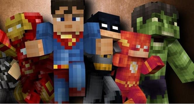 Mod Pocket Heroes Pro for MCPE poster