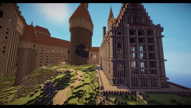 Map Hogwarts Quidditch Match for MCPE apk screenshot