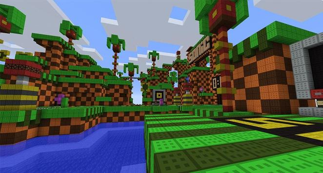 Map Sonic Parkour Extreme for MCPE apk screenshot