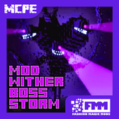 Mod Wither Boss Storm for MCPE icon