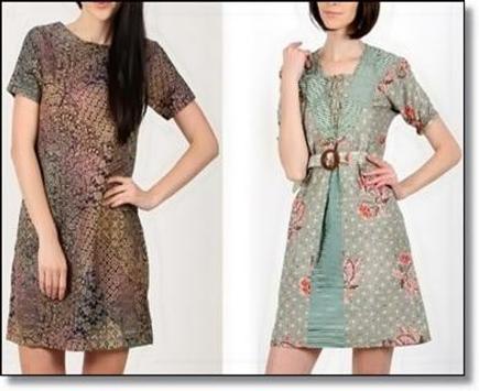 Fashion Model Trendy Batik apk screenshot