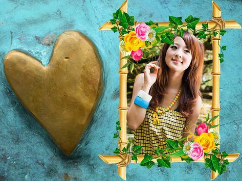 Blue Heart Photo Frames screenshot 6