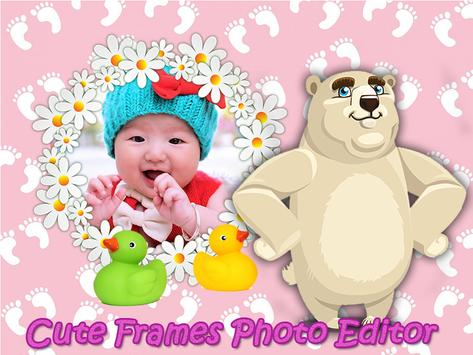 Cute Baby Frames Photo Editor poster