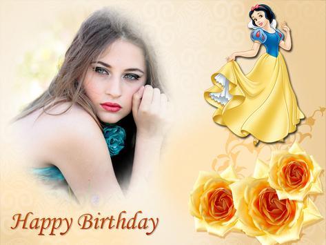 Princess Birthday Party Card!! apk screenshot