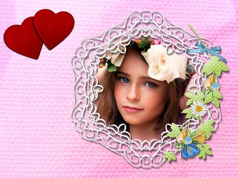 Cute Girl Photo Frames Editor screenshot 12