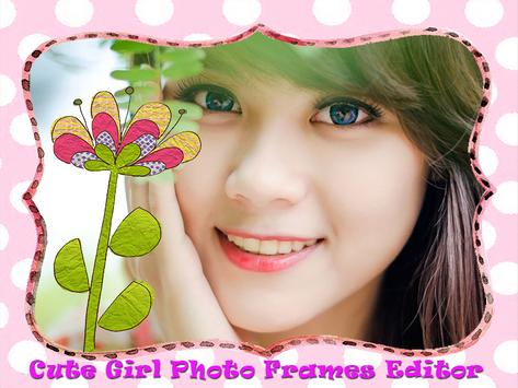 Cute Girl Photo Frames Editor screenshot 5