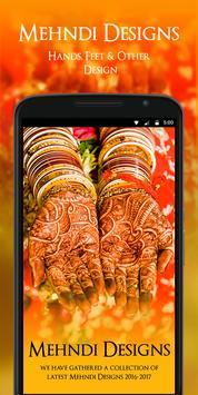 Mehndi Designs 2017 poster