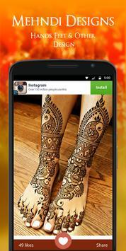 Mehndi Designs 2017 screenshot 3