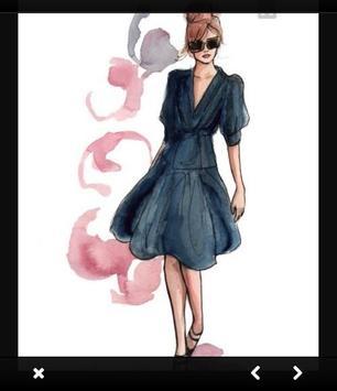 Fashion design sketches screenshot 4