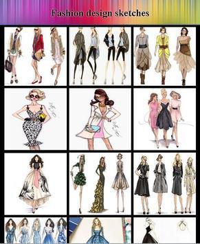 Fashion design sketches screenshot 3