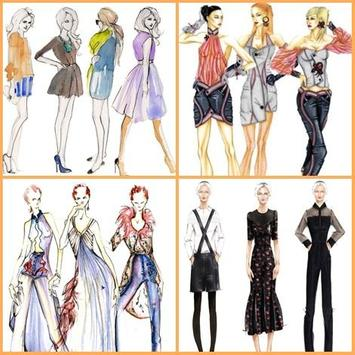 Fashion Sketch Design poster
