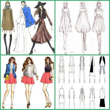 Fashion Sketch Design poster