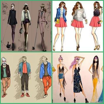 Fashion Sketch Design apk screenshot