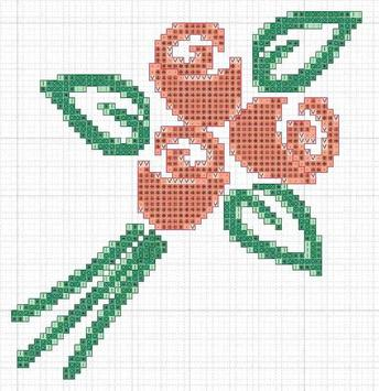 Patterns Cross Stitch poster
