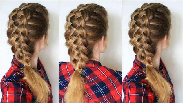 Braid Hairstyle Step poster