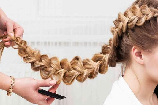 Braid Hairstyle Step apk screenshot