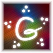 Glowing Drawings Art icon