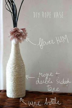 DIY Flower Vase Ideas Art screenshot 1