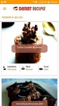 Dessert Recipes 2018 - Delicious Dessert Recipes screenshot 1