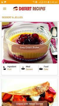 Dessert Recipes 2018 - Delicious Dessert Recipes screenshot 2