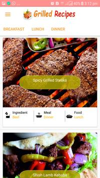 Grilled Recipes 2018 - Latest Grilled Recipes 2018 screenshot 1