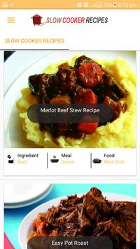 Slow Cooker Recipes 2018 - New Cooker Meal Recipes poster