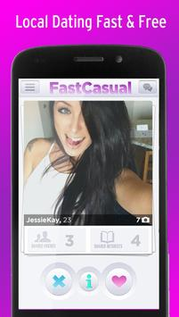 Fast Casual Hookup Dating App poster ...