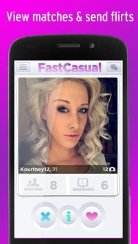 Fast Casual Hookup Dating App poster Fast Casual Hookup Dating App apk  screenshot ...