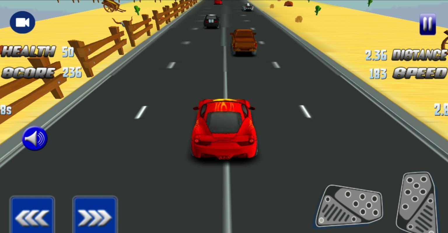 Cars Roadblocks Game