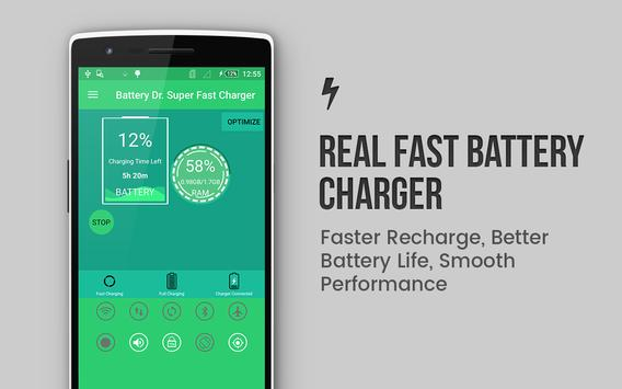 Battery Dr. Super Fast Charger poster