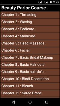 Beauty Parlor Course poster