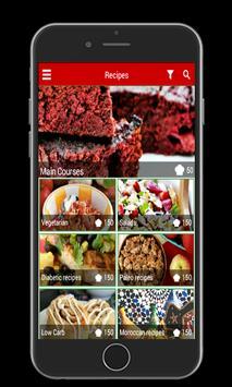 Healthy and tasty recipes 2017 apk screenshot