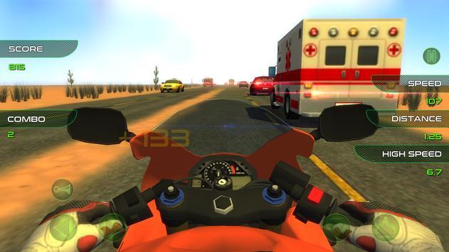 Fast Motorcycle Rider apk screenshot