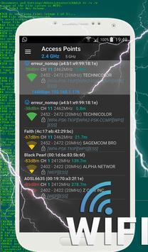Fast Wifi Analyzer poster