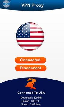 Fast VPN Unlimited Unblock Proxy Changer screenshot 3