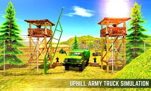 Xtreme Army Commando Trucker poster