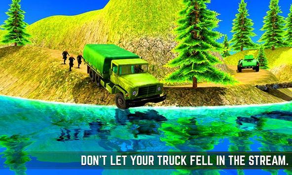 Xtreme Army Commando Trucker apk screenshot
