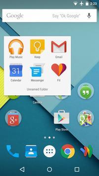 Turbo Launcher® Theme Lollipop apk screenshot
