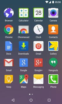 Turbo Launcher® Theme S6 Edge apk screenshot